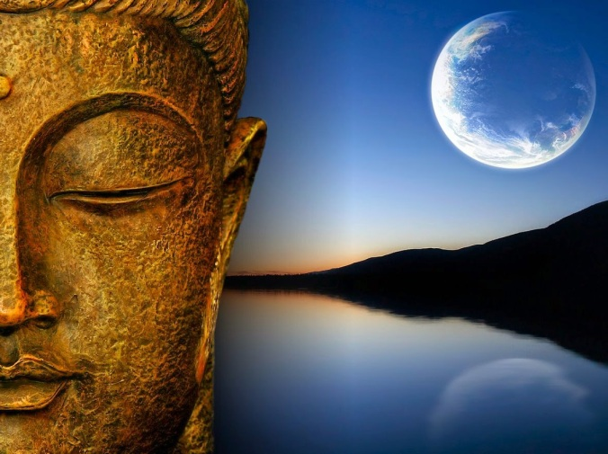 buddha-and-moon