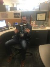 man 6 reading