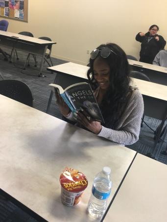 student reading 7