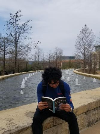 student reading 9