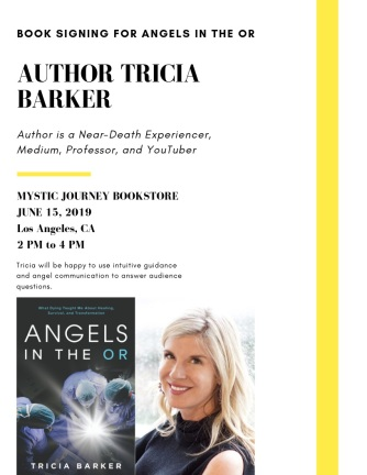 eventflyerMJB Tricia Barker Angels in the OR