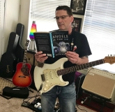 michael with book